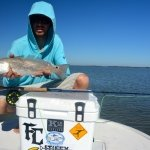 Rockport redfish on the fly