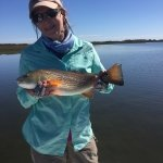Redfish on the fly in Rockport Texas