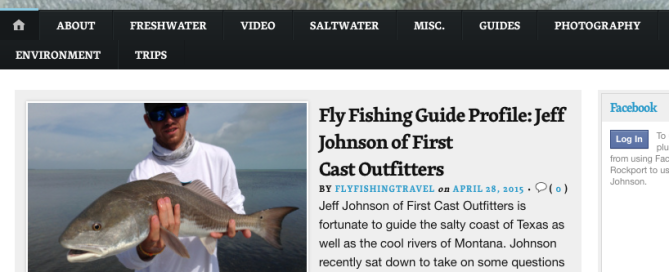 First Cast Outfitters, FirstCastOutfitters, Fly Fish Rockport, FlyFishRockport, Venturing Angler, The Venturing Angler