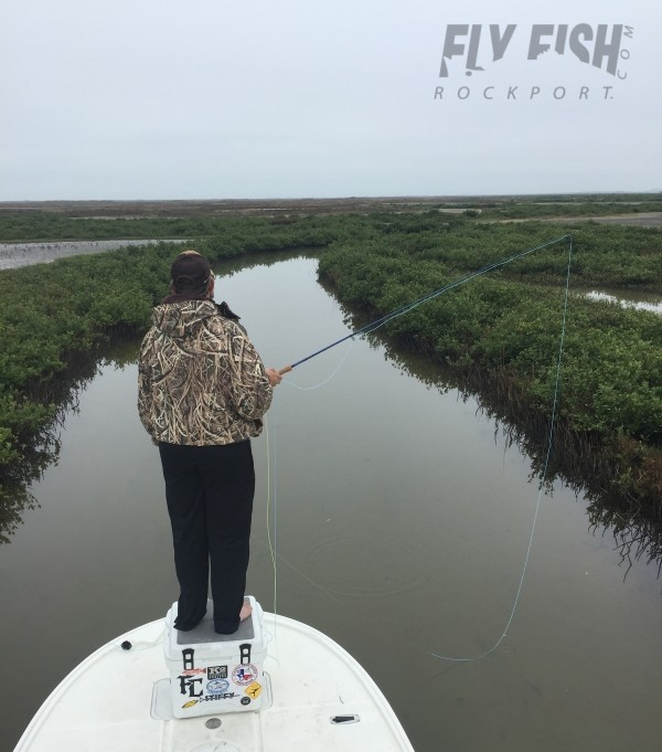 Rockport fishing report december 22nd 2015 fly fish for Rockport texas fishing report