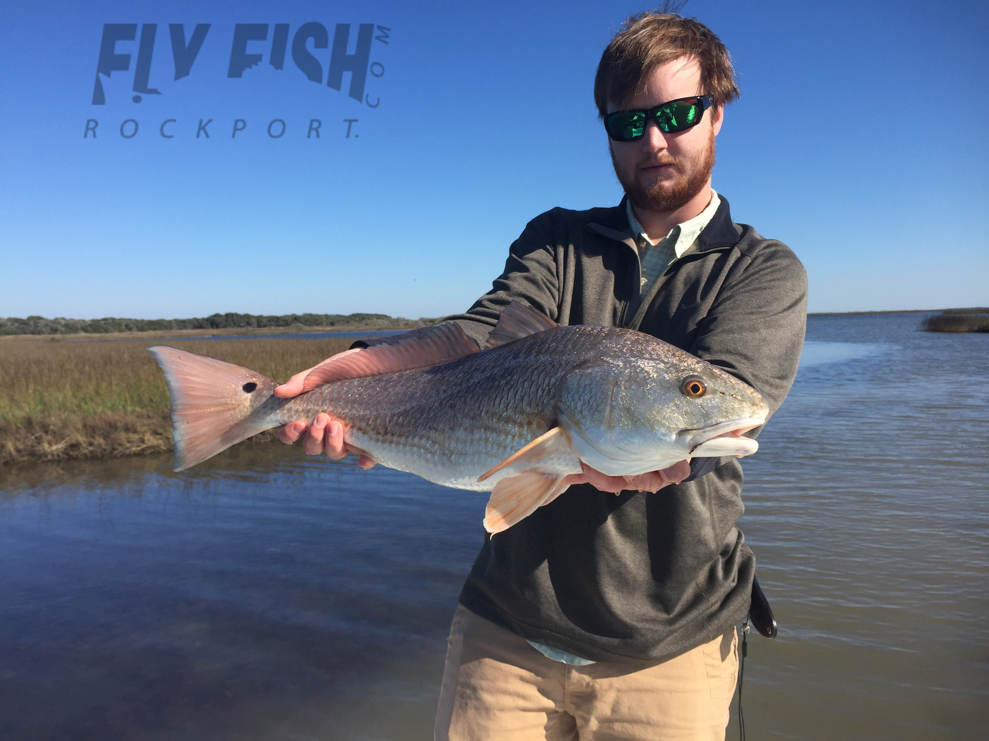 Rockport fishing report january 4th 2016 fly fish for Rockport texas fishing report
