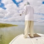 Sight Fishing for Redfish in Port A, Texas