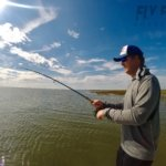 Redfish on the Fly in Seadrift, Texas