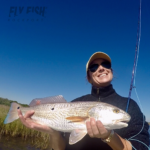 San Antonio Bay redfish on the fly