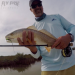 Redfish on the Fly in San Antonio Bay
