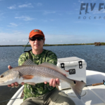 Redfish on the fly in Aransas Bay Rockport, Texas