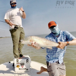 Fly Fishing for Redfish in San Antonio Bay Texas