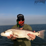 Fly Fishing for Redfish in Port Aransas, Texas