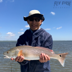 Fly Fishing for Redfish in Port Aransas Texas