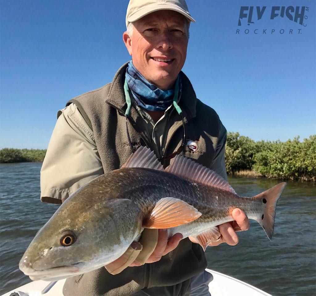 Port Aransas Fly Fishing Redfish