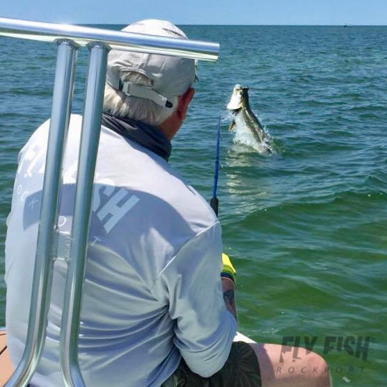 Texas Tarpon on the Fly with Fly Fish Rockport