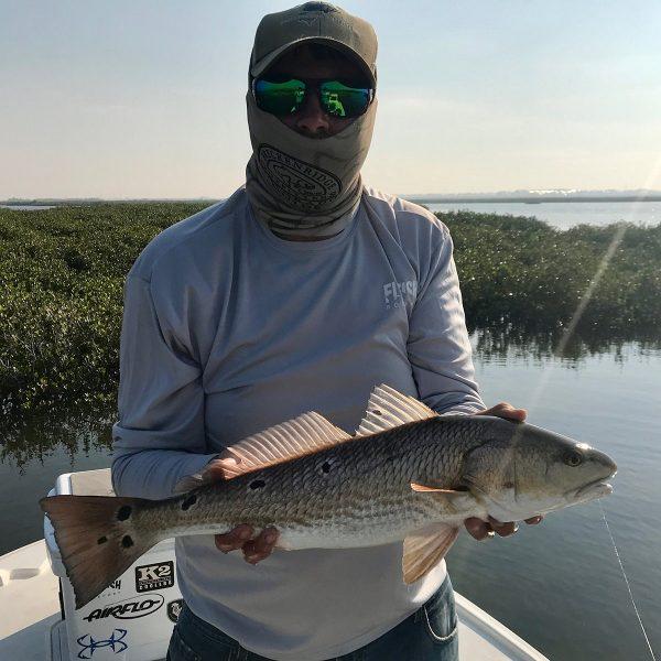 Fly Fishing for Redfish in Port Aransas Texas