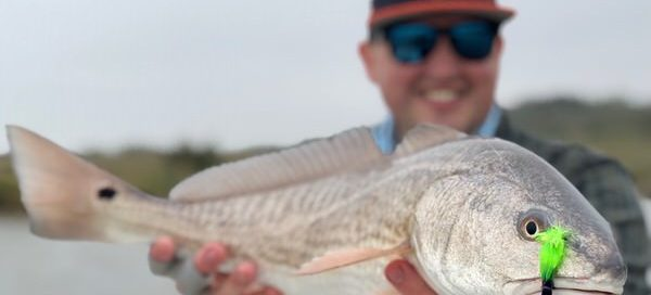 fly fishing for redfish in port oconnor