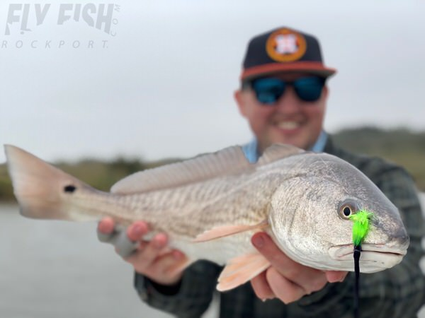 Rockport fishing report january 3rd fly fish rockport for Fly fishing for redfish