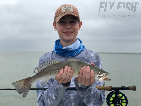 Speckled Trout on the Fly Rockport Texas