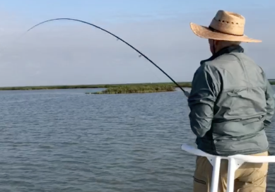 Spring Redfishing in Texas