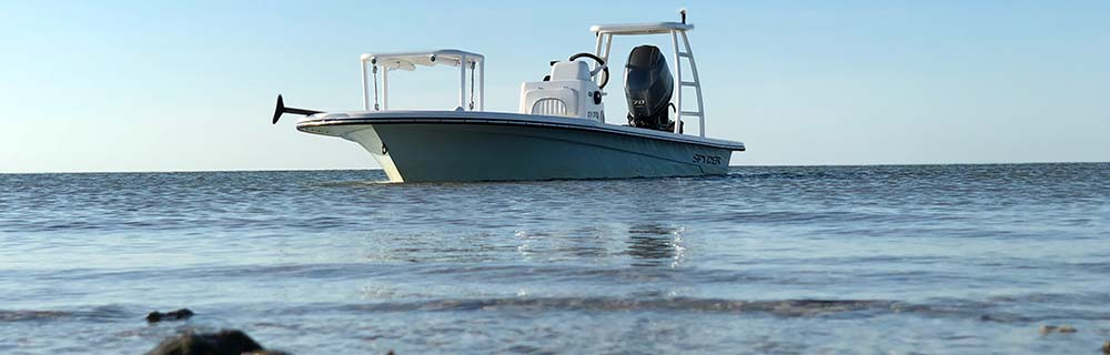 Texas Poling SKiff for Redfish