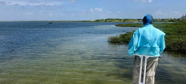 October Fly Fishing in Rockport Texas