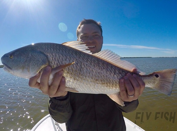 Redfishing Seadrift Texas