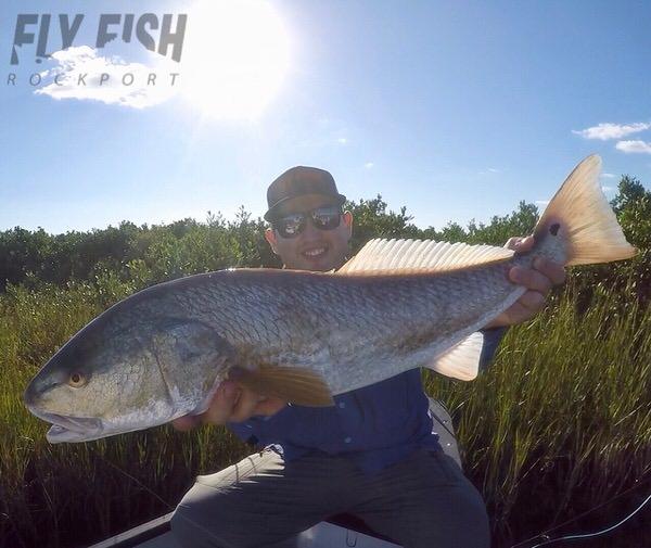 Bull Redfish in Texas