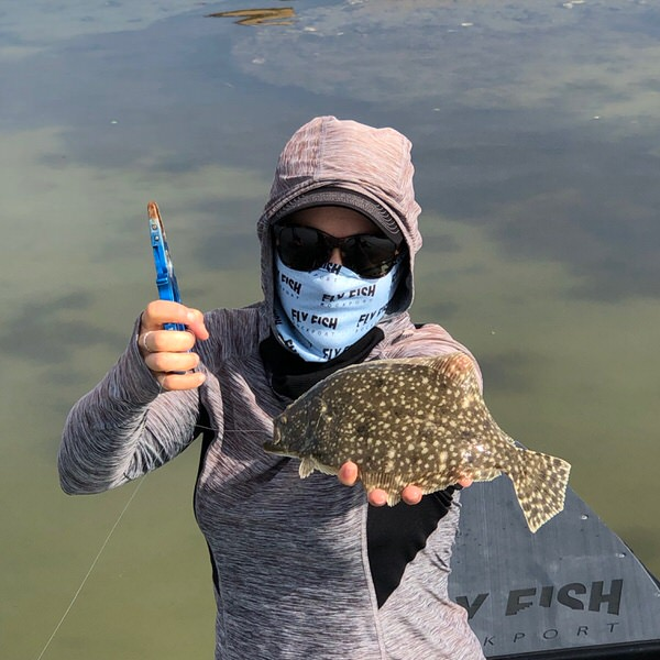 Fly Fishing for Flounder