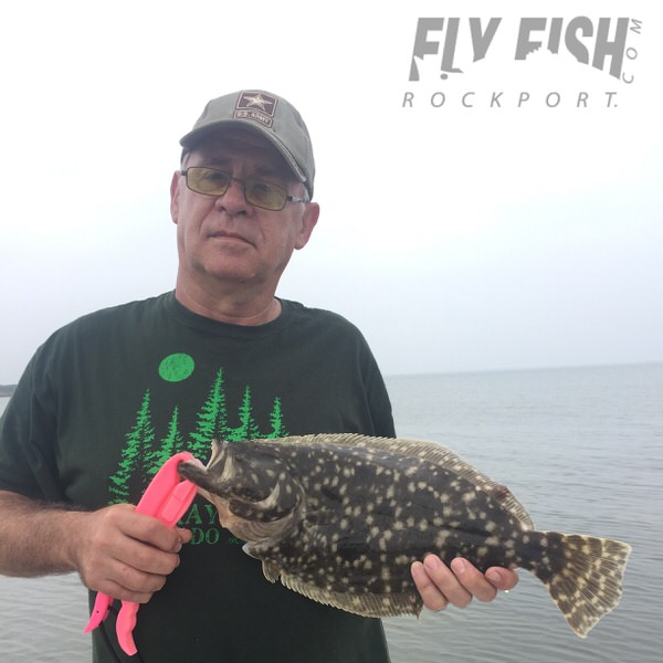 Texas Flounder on Fly
