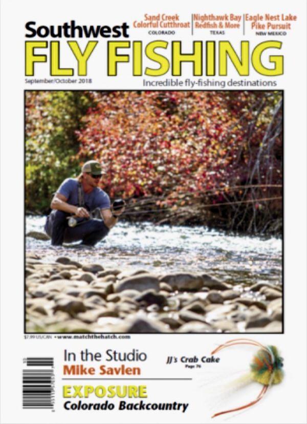 Southwest Fly Fishing Magazine JJ's Crabcake Fly