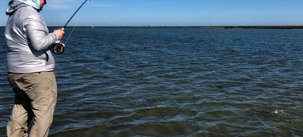 Winter Fly Fishing in Rockport Texas