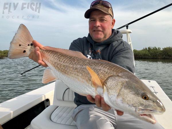 Rockport Texas Redfishing