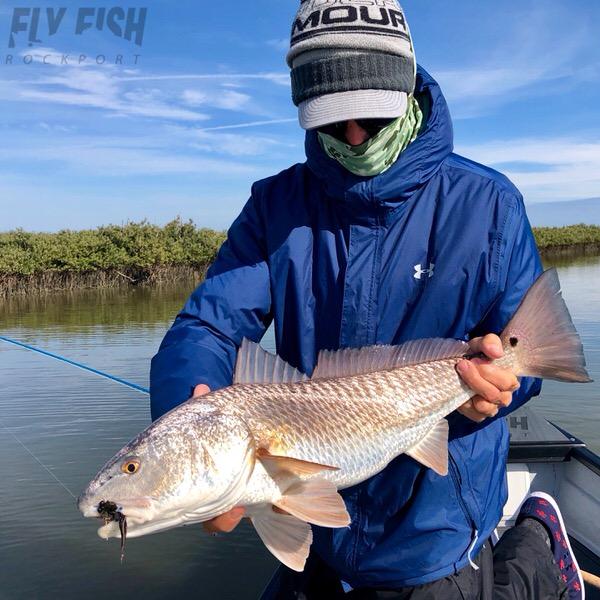 Winter Redfishing in Texas
