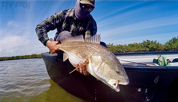 March Fishing for Redfish