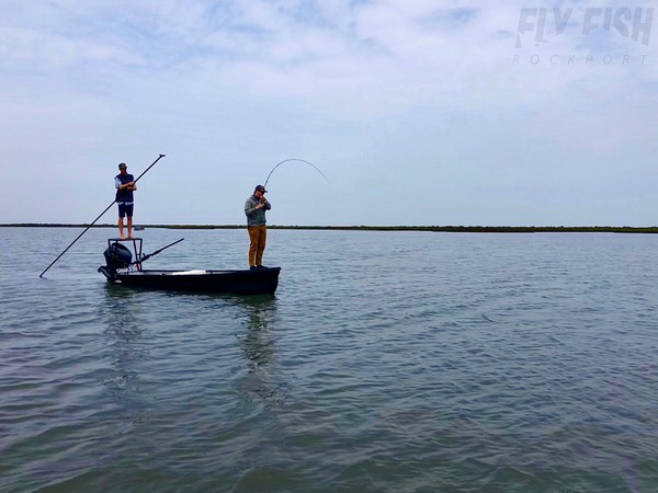 Redfish Fly Fishing Texas