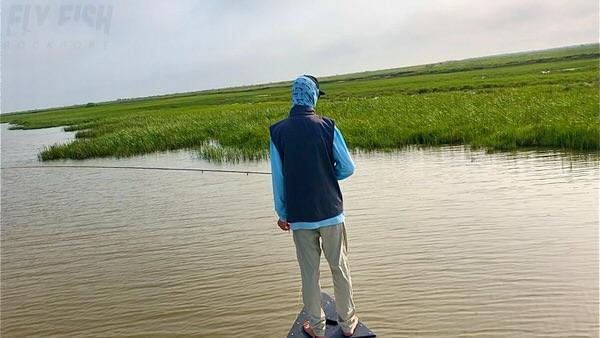 Flats Fishing for Redfish in Texas