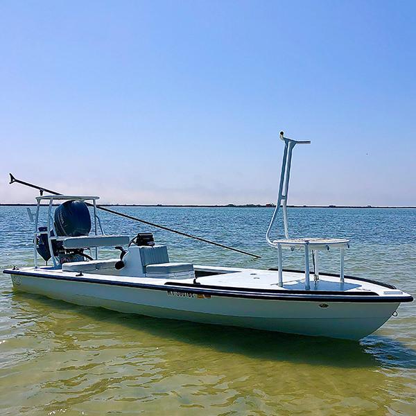 Hells Bay Professional Flats Skiff Rockport Texas